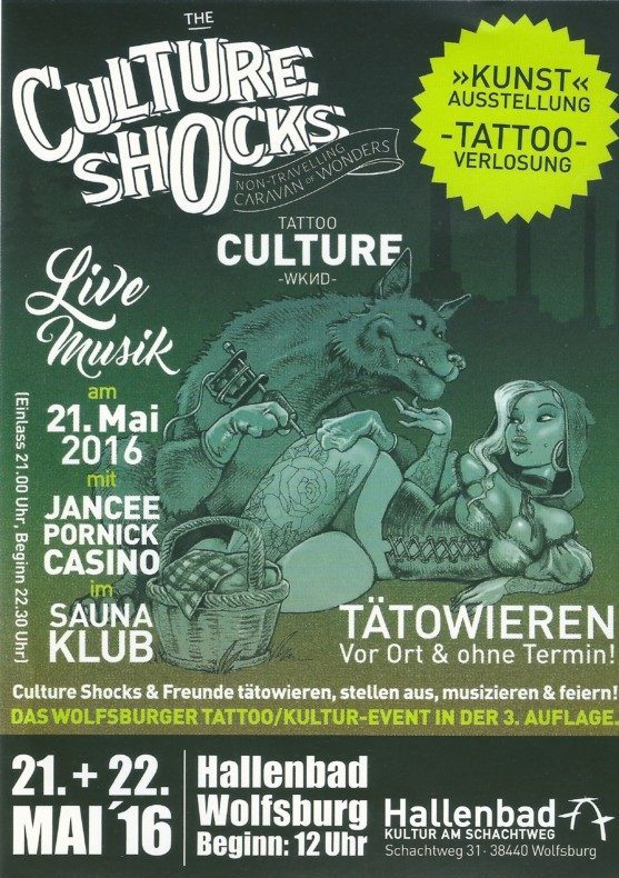 The Culture Shocks Weekend 2016
